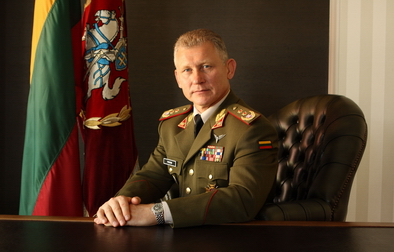 WP gen. Franciszek Ggor  Head of the General Staff of the Polish Army