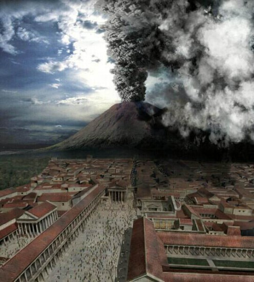 Pompeii Eruption