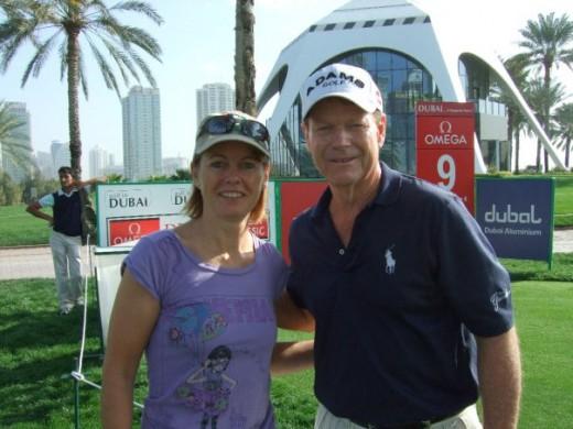 Me and Tom Watson!