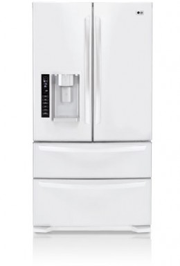 Our new LG bottom freezer refrigerator