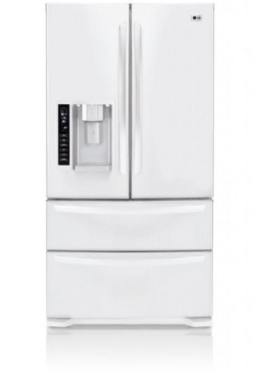 Our new LG bottom freezer refrigerator