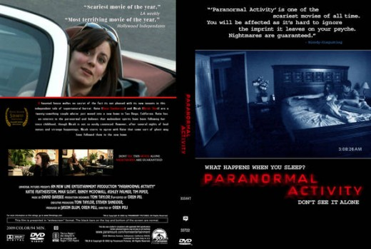 Paranormal Activity Film Review.