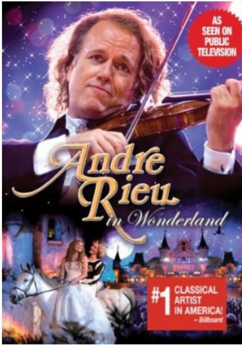 Andre Rieu in Wonderland. DVD - plus bonus CD (2008)