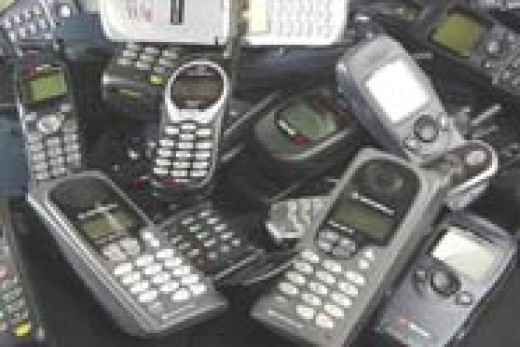 Cell phones like these are in my drawers.