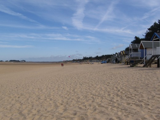 The vast sands at Wells