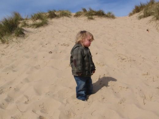 Little boy lost!