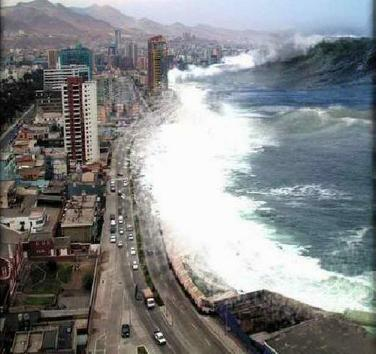 Tsunami - One of Three Disasters