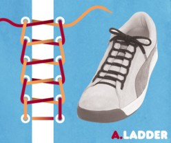 Different Ways To Tie a Shoe Lace