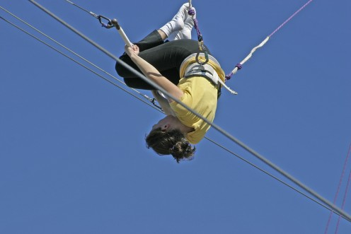 Have you ever wanted to learn trapeze?