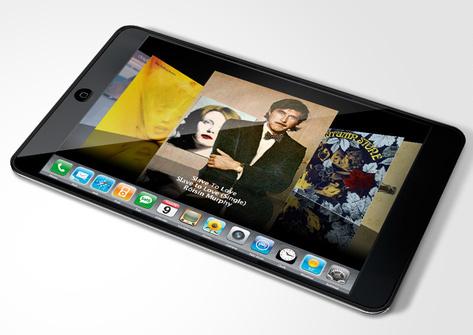 Apple ipad displaying news
