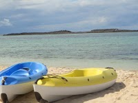 Kayaks available at Paradise Cove