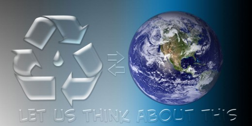 Why Recycle?  Save the Environment!