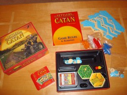 Settlers of Catan - What's in the Box?
