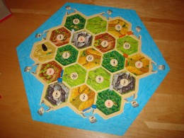 Settlers of Catan - Board Layout