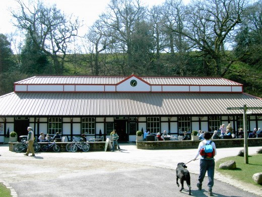 The Cavendish Pavilion is well utilised by visitors.