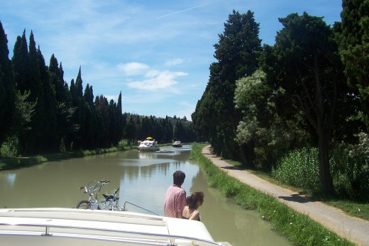Cruising the Midi in complete relaxation!