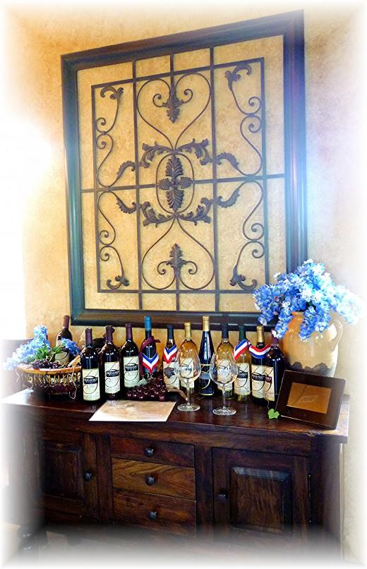Tasting Room at Bernhardt Winery