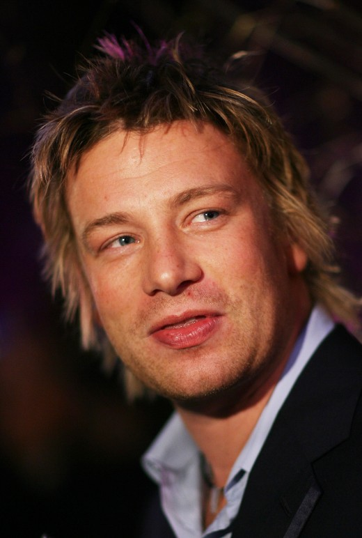 Jamie Oliver - photo from goodgrapevine.co.uk