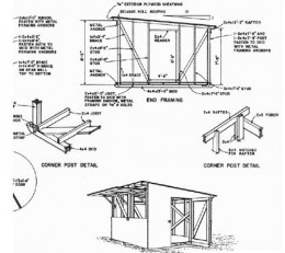 Does this scare you?  It shouldn't.  These are high quality shed building plans made for the Do It Yourself home owner.