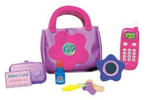Handbag set for toddler girls