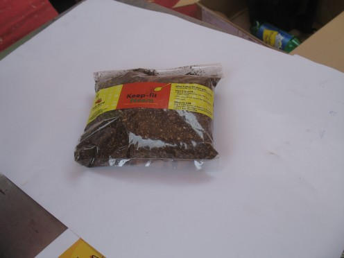 The  Final Organic Manure Produced can be packed and even sold as ORGANIC MANURE.