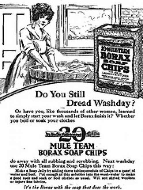 Ingredients for a good Wash, Victorian Style.