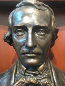 Edgar Allan Poe in sculpture