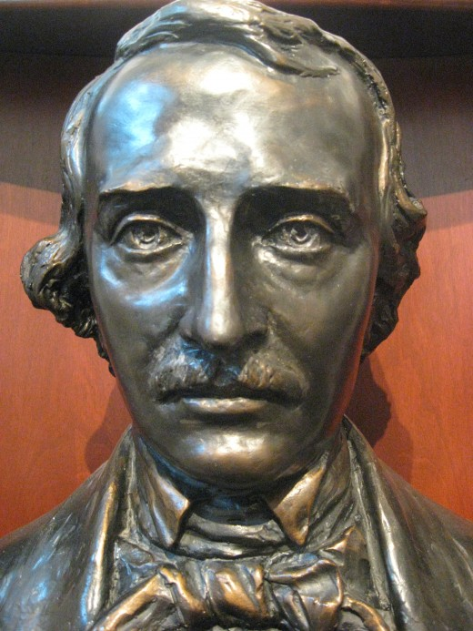 Edgar Allan Poe in sculpture
