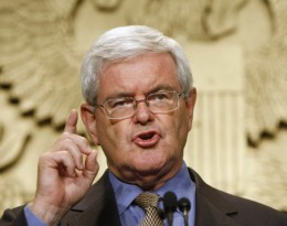 Newt Gingrich/Photo by: Gerald Herbert (from AP)