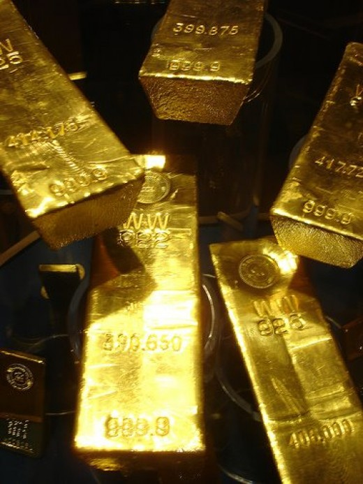 Gold bars pic