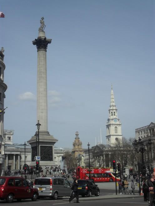 Nelson's column - Trafalgar Square