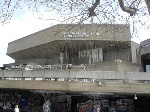Queen Elizabeth Hall and Purcell Room - the Hayward Gallery is close by