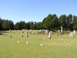 Cottonwood Cemetery, backroads of Texas.