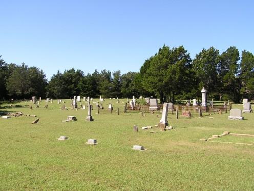 Cottonwood Cemetery, backroads of Texas.
