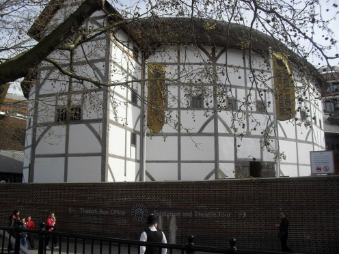 Thatched roof - Shakespeare's reconstructed globe