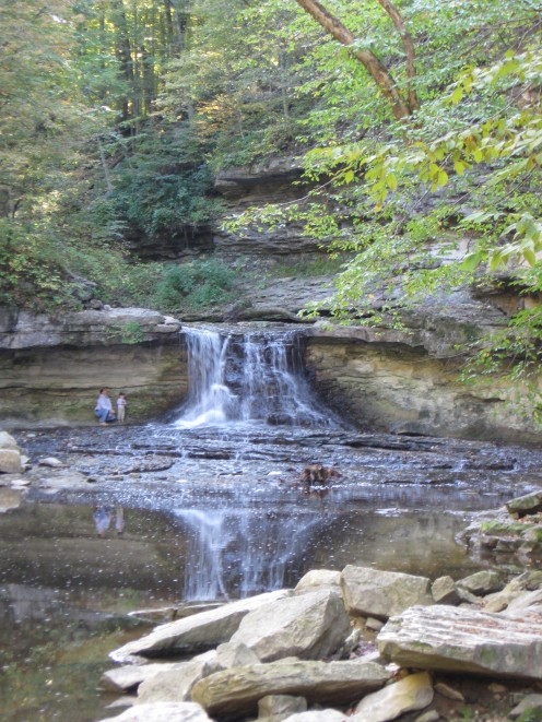 Indiana state park pictures hubpages - Clifty falls state park swimming pool ...