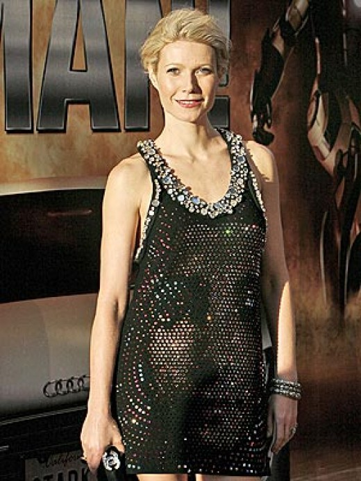Gwenyth at the premiere of her movie in Germany