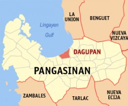 Dagupan City is strategically located in the province of Pangasinan along the coast of Lingayen Gulf. Picture courtesy of wikipedia.com