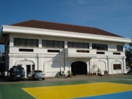 The Dagupan City Museum houses paintings and other historical artifacts on its fold