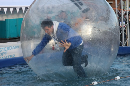 Running in a bubble