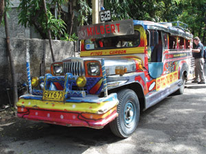 JEEPNEY -NATIONAL PUBLIC UTILITY VEHICLE (Photo Credit:  http://www.oakhall.co.uk/)