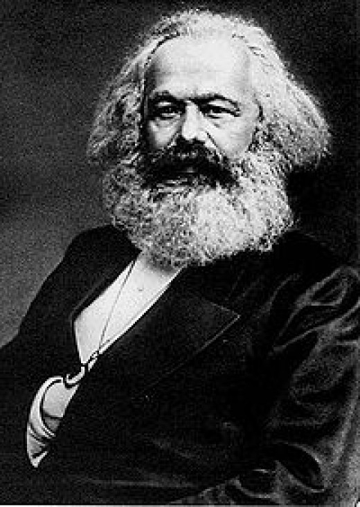 Karl Marx. The founder of modern communism.