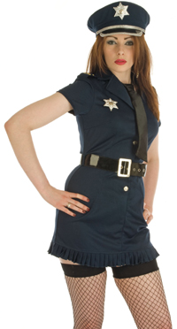 WPC - Ladies Policewomen's Costume