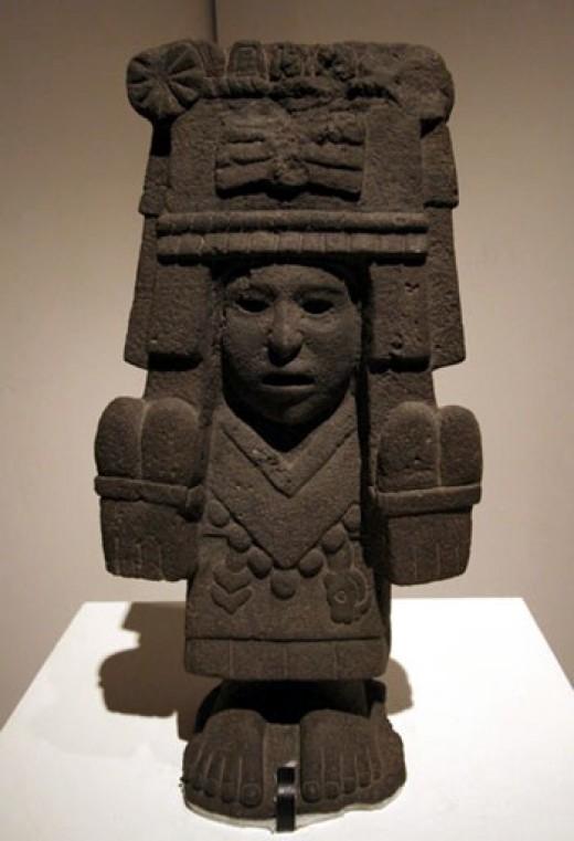 Aztec sculpture of Tonantzin
