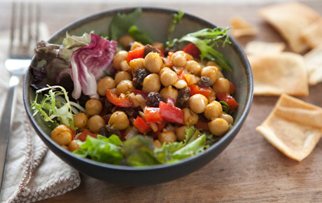 Curried chickpea salad - photo from wholefoodsmarket.com