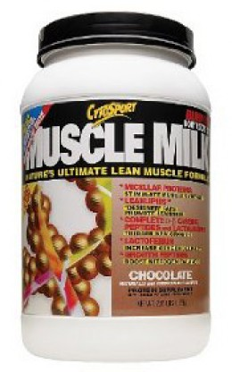 Bulk up with muscle milk