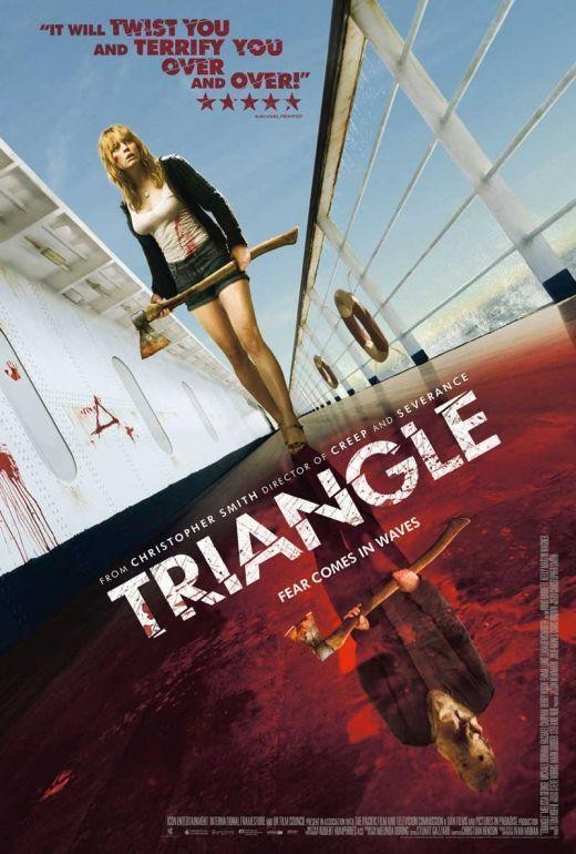 Triangle movie review. starring Melissa George.