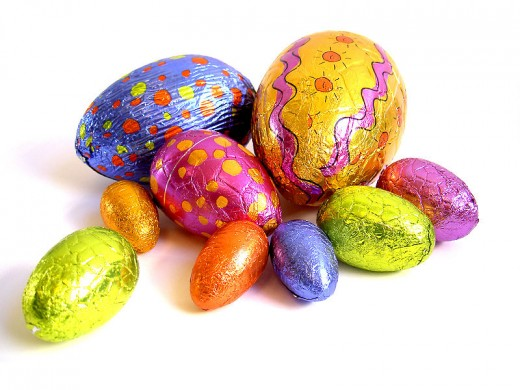 Eat some easter eggs.     Image source speaking-up.com