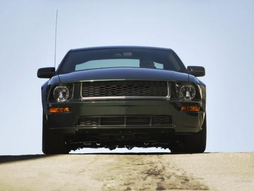 Ford Mustang Bullitt Front