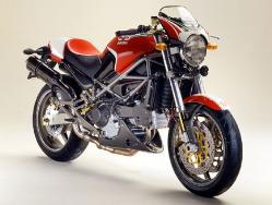 2002 Ducati Monster S4 Fogarty, 916 cc, liquid cooled